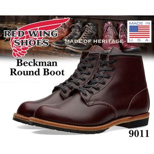 レッドウィング ベックマンブーツ REDWING BECKMAN BOOTS ROUND-TOE BLACK CHERRY made in USA RED WING メンズ ブーツ|ltd-online