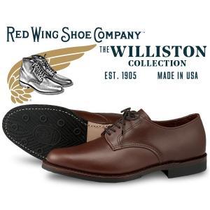 レッドウィング ウィリストン オックスフォード REDWING WILLISTON OXFORD MADE IN USA TEAK FEATHERSTONE LEATHER 9430 チーク レザー メンズ 短靴|ltd-online