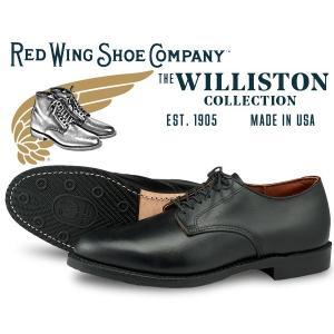 レッドウィング ウィリストン オックスフォード REDWING WILLISTON OXFORD MADE IN USA BLACK FEATHERSTONE LEATHER 9431 ブラック レザー メンズ 短靴|ltd-online