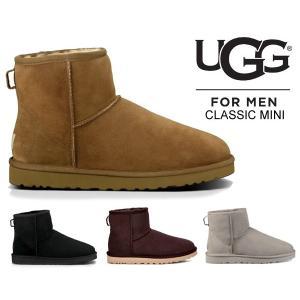アグ メンズ ムートンブーツ クラシック ミニ UGG MENS CLASSIC MINI ムートン シープスキン ブーツ UGG FOR MEN 1002072|ltd-online