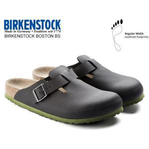 ビルケンシュトック ボストン BIRKENSTOCK BOSTON BS(REGULAR FIT) DESERT SOIL BLACK 1006434 レザーサンダル クロッグ サンダル レギュラーフィット|ltd-online