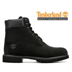 TIMBERLAND 6INCH PREMIUM BOOTS blk/blk<BR>  ...