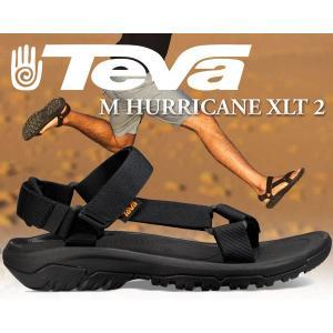 テバ ハリケーン サンダル TEVA MENS HURRICANE XLT2 BLACK メンズ サンダル XLT 2 ブラック スポーツ テバ キャンプ アウトドア フェス 1019234 MENS|ltd-online