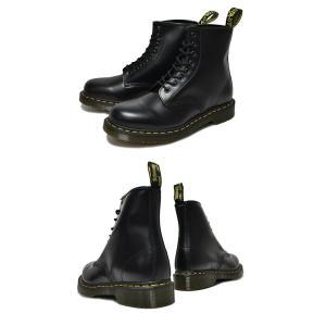 ドクターマーチン 8ホール R11822006 Dr.Martens1460 8HOLE BOOT SMOOTH BLACK レースアップ メンズブーツ ブラック 8ホール ブーツ|ltd-online|03