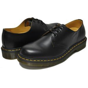 ドクターマーチン ブーツ 3ホール 11838002 Dr.Martens 1461 3EYE GIBSON BLACK 1461 3EYE SHOE 1461Z ギブソン シューズ メンズ|ltd-online|02