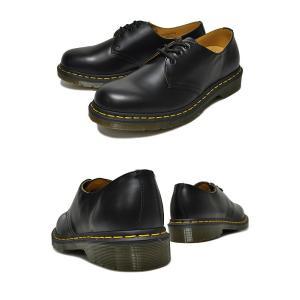ドクターマーチン ブーツ 3ホール 11838002 Dr.Martens 1461 3EYE GIBSON BLACK 1461 3EYE SHOE 1461Z ギブソン シューズ メンズ|ltd-online|03
