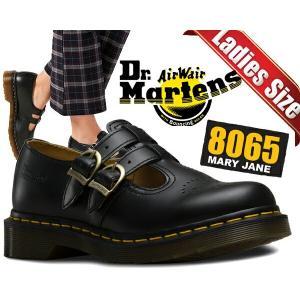 ドクターマーチン レディース Dr.Martens 8065 MARY JANE SMOOTH BLACK ダブルストラップ シューズ メリージェーン ウィメンズ 8065 カジュアル 12916001|ltd-online