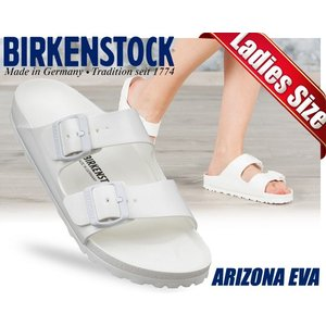 ビルケンシュトック レディース シューズ サンダル アリゾナ BIRKENSTOCK ARIZONA EVA White ウォッシャブル 軽量 サンダル  ナロー|ltd-online