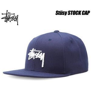 STUSSY STOCK FA16 CAP navy 6パネル スナップバック 帽子 ネイビー 131610 Stssy ltd-online