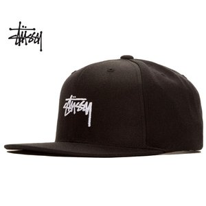 ステューシー Stssy キャップ STUSSY HO18 STOCK CAP black 6パネル スナップバック 帽子 ブラック 131850|ltd-online
