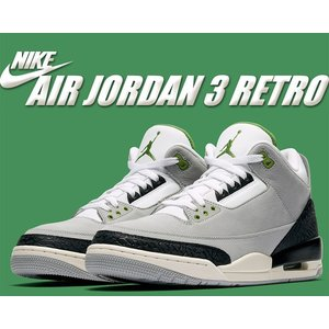 "NIKE AIR JORDAN 3 RETRO ""Tinker"" lt smoke grey/chl..."