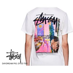 ステューシー Tシャツ STUSSY DAYDREAM PIG. DYED TEE NATURAL 1904438 T-シャツ デイドリーム ピグメントダイ ナチュラル|ltd-online