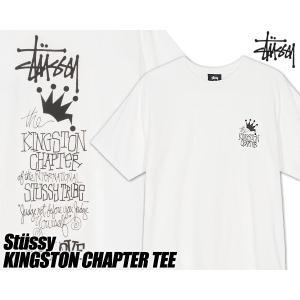 ステューシー Tシャツ STUSSY KINGSTON CHAPTER PIG. DYED TEE NATURAL 1904440 ナチュラル ジャマイカ Tシャツ キングストン チャプター ピグメントダイ|ltd-online