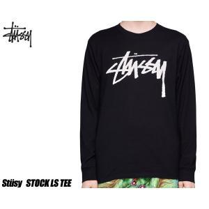 ステューシー LS Tシャツ STUSSY STOCK LS TEE BLACK 1994406-BLK ロンT TEE ブラック ロングスリーブ|ltd-online