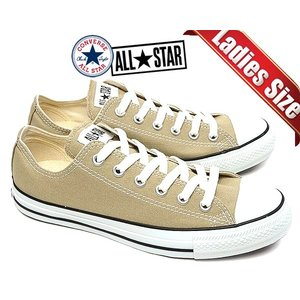 CONVERSE CANVAS ALL STAR COLORS OX BEIGE 【32860669...