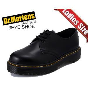 ドクターマーチン ベックス 3ホール シューズ Dr.Martens 1461 BEX 3EYE SHOE BLACK 21084001 厚底 ソール メンズ ブーツ|ltd-online