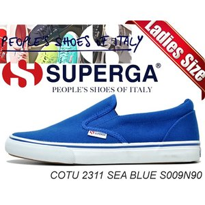 SUPERGA スペルガ スニーカー SUPERGA COTU 2311 SEA BLUE S009N90 G03 SUPERGA メンズ レディース カジュアル スニーカー|ltd-online