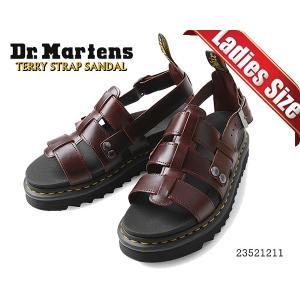 ドクターマーチン ストラップ サンダル Dr.Martens TERRY STRAP SANDAL CHARRO BRANDO ZIGGY SOLE 23521211 ジギーソール グラディエーター 厚底 サンダル ltd-online