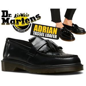 ドクターマーチン エイドリアン タッセル ローファーDr.Martens ADRIAN TASSEL LOAFER R24369001 BLACK POLISHED SMOOTHタッセル スリッポン メンズ ブラック 黒|ltd-online
