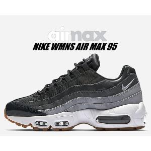 ナイキ ウィメンズ エアマックス 95 NIKE WMNS AIR MAX 95 anthracite/wht-wolf grey 307960-012 スニーカー エア マックス 95 レディース メンズ グレー|ltd-online