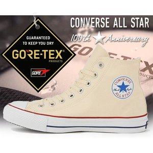 CONVERSE ALL STAR 100 GORE-TEX HI NATUR/WHT 【32069...