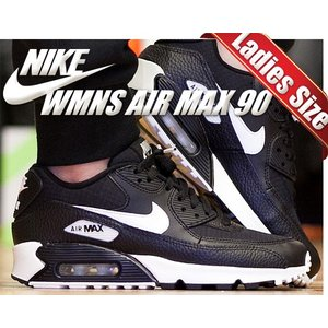 NIKE WMNS AIR MAX 90 black/summit white-black-blac...