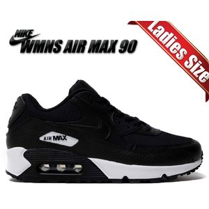 NIKE WMNS AIR MAX 90 black/black-black-white 32521...