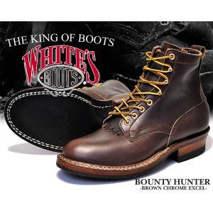 ホワイツ ブーツ バウンティハンター White's Boots Bounty Hunter 350W Brown Horween Chromexcel メンズ ワーク ブーツ 6インチ ブーツ ブラウン セミドレス|ltd-online