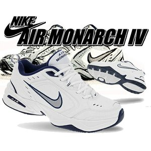 NIKE AIR MONARCH IV white/metallic silver  革新的かつ先進...
