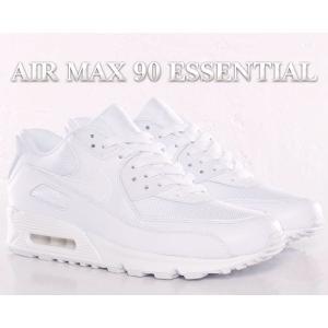 NIKE AIR MAX 90 ESSENTIAL wht/wht-wht-wht       歴代...