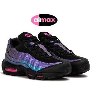 ナイキ エアマックス 95 プレミアム NIKE AIR MAX 95 PREMIUM THROWBACK FUTURE black/black-laser fuchsia 538416-021 スニーカー エア マックス 95 PRM|ltd-online