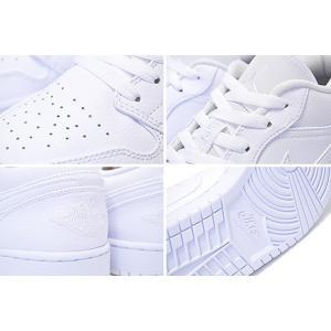 ナイキ エアジョーダン 1 ロー NIKE AIR JORDAN 1 LOW white/white-white 553558-112 スニーカー AJ1 LO メンズ オールホワイト 白 ltd-online 04