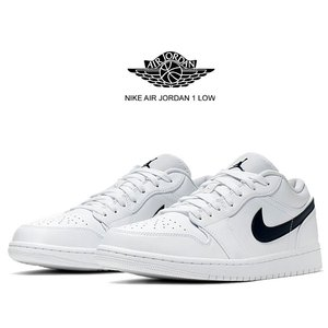 NIKE AIR JORDAN 1 LOW white/obsidian-white 553558-...