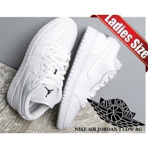 ナイキ エアジョーダン 1 レディース NIKE AIR JORDAN 1 LOW BG white/black-white 553560-101 スニーカー ウィメンズ キッズ ホワイト 白 ロー|ltd-online