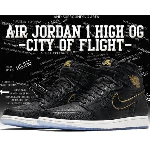 "NIKE AIR JORDAN 1 RETRO HIGH OG ""CITY OF FLIGHT"" b..."