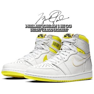 ナイキ エアジョーダン 1 ハイ NIKE AIR JORDAN 1 HI OG FIRST CLASS white/black-dynamic yellow 555088-170 FIRST CLASS FLIGHT スニーカー ファーストクラス|ltd-online