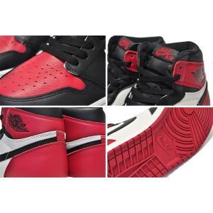 ナイキ エアジョーダン 1 OG NIKE AIR JORDAN 1 RETRO HIGH OG BRED TOE gym red/black-summit white 555088-610 AJ 1 OG レトロ ブレッドトゥ スニーカー ltd-online 04