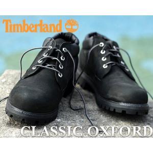 ティンバーランド ブーツ  Timberland CLASSIC OX BLACK NB クラシックオックスフォード メンズ TB073537|ltd-online
