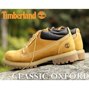 ティンバーランド クラシックオックスフォード メンズ ブーツ Timberland CLASSIC OX WHEAT NB ウィート イエローブーツ タンクソール TB073538|ltd-online