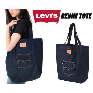 リーバイス デニムトートバッグ LEVIS DENIM TOTE BAG INDIGO トート カバン デニム インディゴ|ltd-online