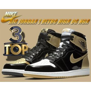 "NIKE AIR JORDAN 1 RETRO HIGH OG NRG ""GOLD TOP 3"" b..."