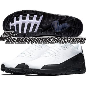 NIKE AIR MAX 90 ULTRA 2.0 ESSENTIAL black/white-da...