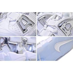 ナイキ エア モアアップテンポ Nike Wmns Air More Uptempo White Chrome