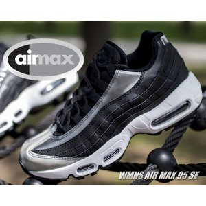 NIKE WMNS AIR MAX 95 SE black/anthracite-white  先進...