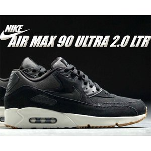 NIKE AIR MAX 90 ULTRA 2.0 LTR black/black-light bo...