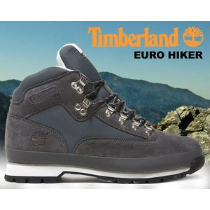 ティンバーランド ユーロハイカー Timberland EURO HIKER F/L grey ハイキングブーツ グレー スウェード ウォータープルーフ メンズ ブーツ|ltd-online