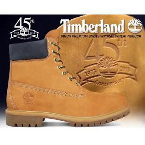 ティンバーランド 6インチ ブーツ ウィート 45周年 TIMBERLAND 6INCH PREMIUM BOOTS WP 45th WHEAT NUBUCKイエローブーツ メンズ ブーツ WP|ltd-online