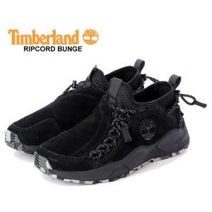 ティンバーランド リップコード バンジー Timberland RIPCORD BUNGEE BLACK SUEDE TB 0A1WDB 015 スニーカー ブラック スウェード メンズ ブーツ|ltd-online