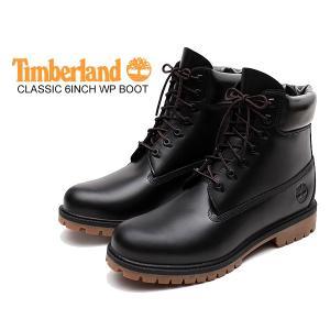 ティンバーランド 6インチ ブーツ Timberland CLASSIC 6INCH WP BOOT BLACK FULL GRAIN a22wk ウォータープルーフ HERITAGE ブラック ガム クラシック|ltd-online