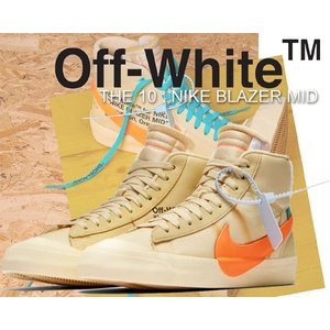 """THE 10 : NIKE BLAZER MID OFF-WHITE """"SPOOKY PACK"""" c..."""